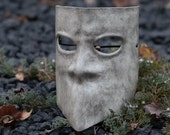 Leather Bauta Mask