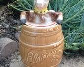 Vintage Elsie the Cow Cookie Jar Borden Advertising