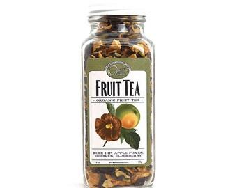 Tea, Organic Tea, Fruit Tea, Apple Tea, Apricot Tea, Hibiscus Tea, local tea, fruit pieces, vitamin tea