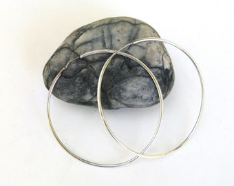 vintage sterling large hoop earrings  ...   sterling silver earrings