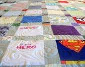 """Reserved for Ranger Princess - Baby Clothes Quilt Queen Size 86"""" x 92"""" (50 clothing items) - 3 of 3"""