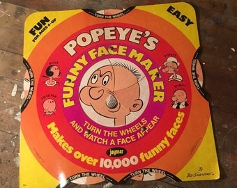 1960's popeyes funny face maker