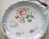 german floral plate