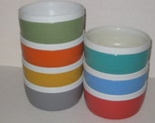 Vintage Sun Frost - Therm-O-Ware - Unbreakable Colorful Bowls (7)
