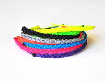 Braided string bracelet. Custom string bracelet. Bracelet braided. Custom friendship bracelets. Adjustable bracelets. Stacking bracelets.