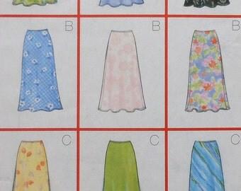 Skirt Sewing Pattern UNCUT Butterick 5431 Sizes 12-16