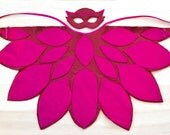 Owlette Costume, PJ Mask Owlette Mask and Wing Cape, Toddler and Pre-Schooler Halloween Costume