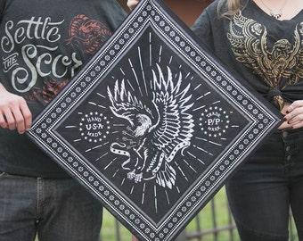 American Eagle - Black Bandana