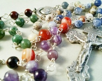 Gemstone Rosary, Therapeutic Gemstones