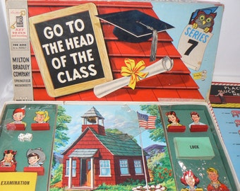 1955 Go To The Head Of The Class Board Game Series 7 MB