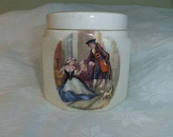 Marmelade Pot Staffordshire Frank Cooper  Sandland Ware England