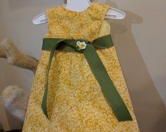 Sleeveless Summer Dress for American Girl and other 18 inch dolls