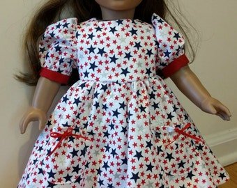 Doll Clothes, 4th of July, 18 inch doll, American Girl