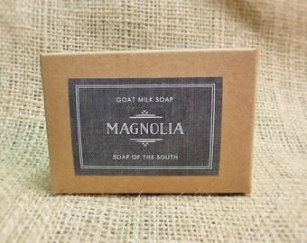 Magnolia Scented Goat's Milk Soap