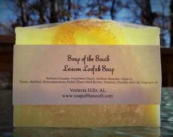 Lemon Loofah Soap