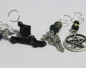 Carry on My Wayward Son Stitch Markers
