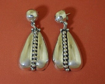 Taxco Silver Earrings Pat Areias