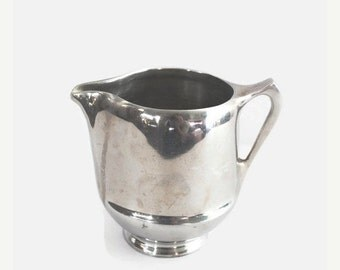 ON SALE Silver Plated Creamer Pitcher Vintage