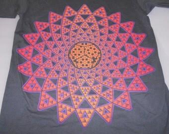 T-Shirt - Infinite Possibilities (Orange/Purple on Charcoal)