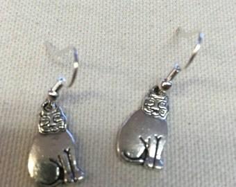 Fat Cat Earrings FREE SHIPPING