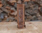 Leather Journal 6x8, Natural Handbound Journal
