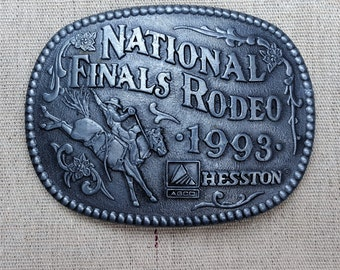 Hesston Buckle, 1993 National Finals Rodeo