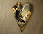 Best ever Valentine's gift heart wood carving wall wood sculpture