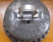 vintage tart king biscuit mold cutter