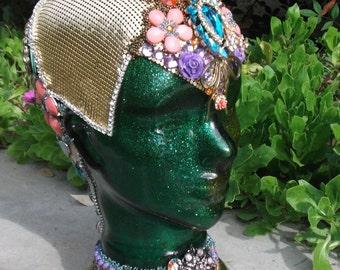 Flora II, the Garden Goddess Mosaic