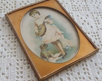 Vintage Brass Frame 1906