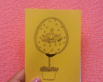 A lotus for you: zine about learning more mindfulness