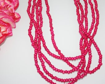 In The Pink Necklace || Pink
