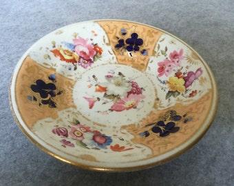 Vintage Decorative Floral Plate