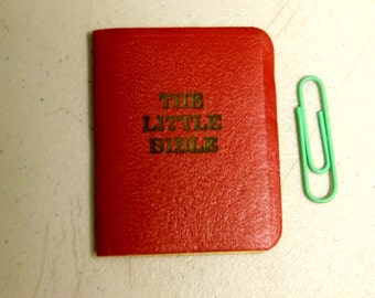 Christian Bible/Tiny Bible/The Little Bible/Illustrated Bible