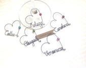 5 Personalized Wedding Favors - Personalized Wine Charms - Wedding Favor Wine Glass Charms,  Bridal Shower favors, Rustic Wedding Favors