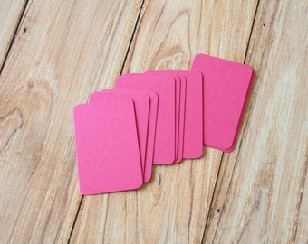 50pc MAGENTA Pink Eco Series Business Card Blanks