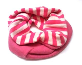 Cozy Cashmere Cowl, reversible, TWO FOR 40 dollars, use coupon code: NECKSALE, pink, striped, womens, gift