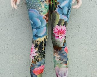 BJD colorful cactuses leggings several sizes - sd, msd, yosd, eid, jid