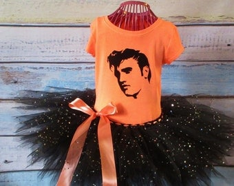 Elvis Tutu Dress Elvis Tutu Elvis Dress Ready To Ship Size 4/5