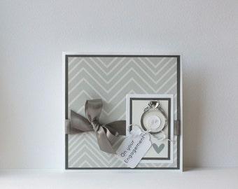 Engagement Handmade Card