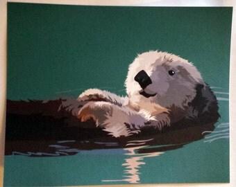 Otter Float 8 x 10 print