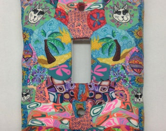 Switch Plate Cover- Tropical- Made to Order