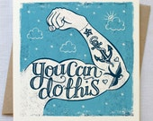 Tattoo Encouragement Card