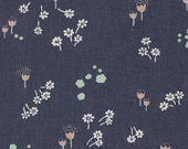 The Denim Studio by Art Gallery Fabrics - 80/20 BTY WIDE - Ditsy Abrasion Smooth Denim P-1001