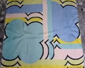Vintage Designer Silk Scarf Blowout Sale -1960s Lanvin Silk Scarf