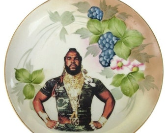 ON SALE Sergeant Bosco Portrait - Altered Antique Plate 9""