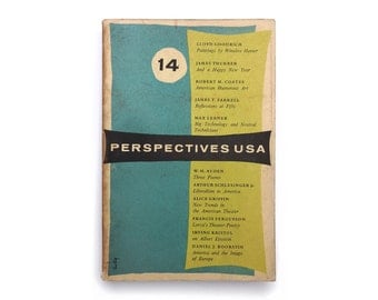 Alvin Lustig magazine design. Perspectives USA (Issue 14, Winter 1956) published by James Laughlin