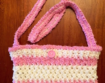 Crocheted Handbag