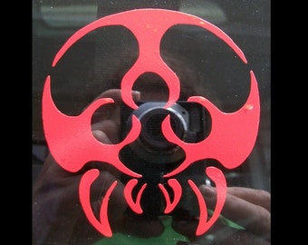 Metroid vinyl car decal