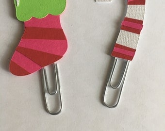 Christmas Planner paperclip. Pick one